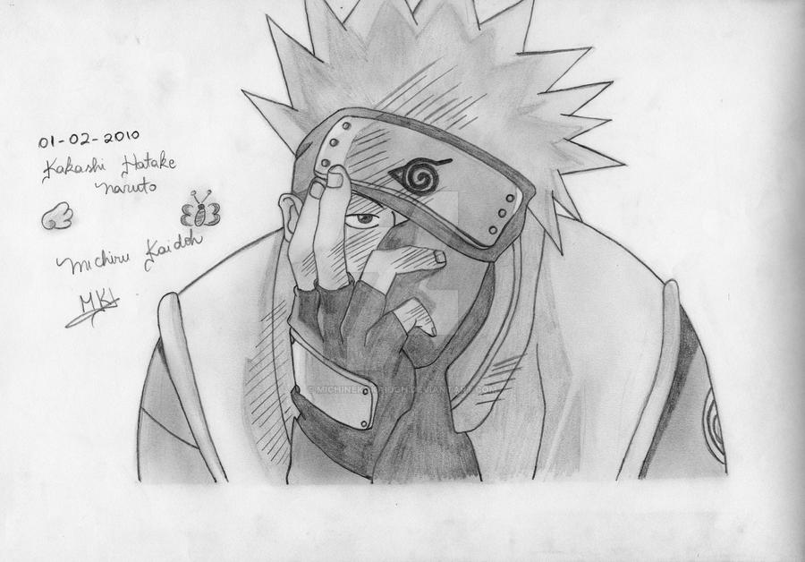 Kakashi Hatake Naruto By Michinekokaidoh On Deviantart
