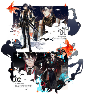 [CLOSE] Adoptable Exorcist Kinmu-chu