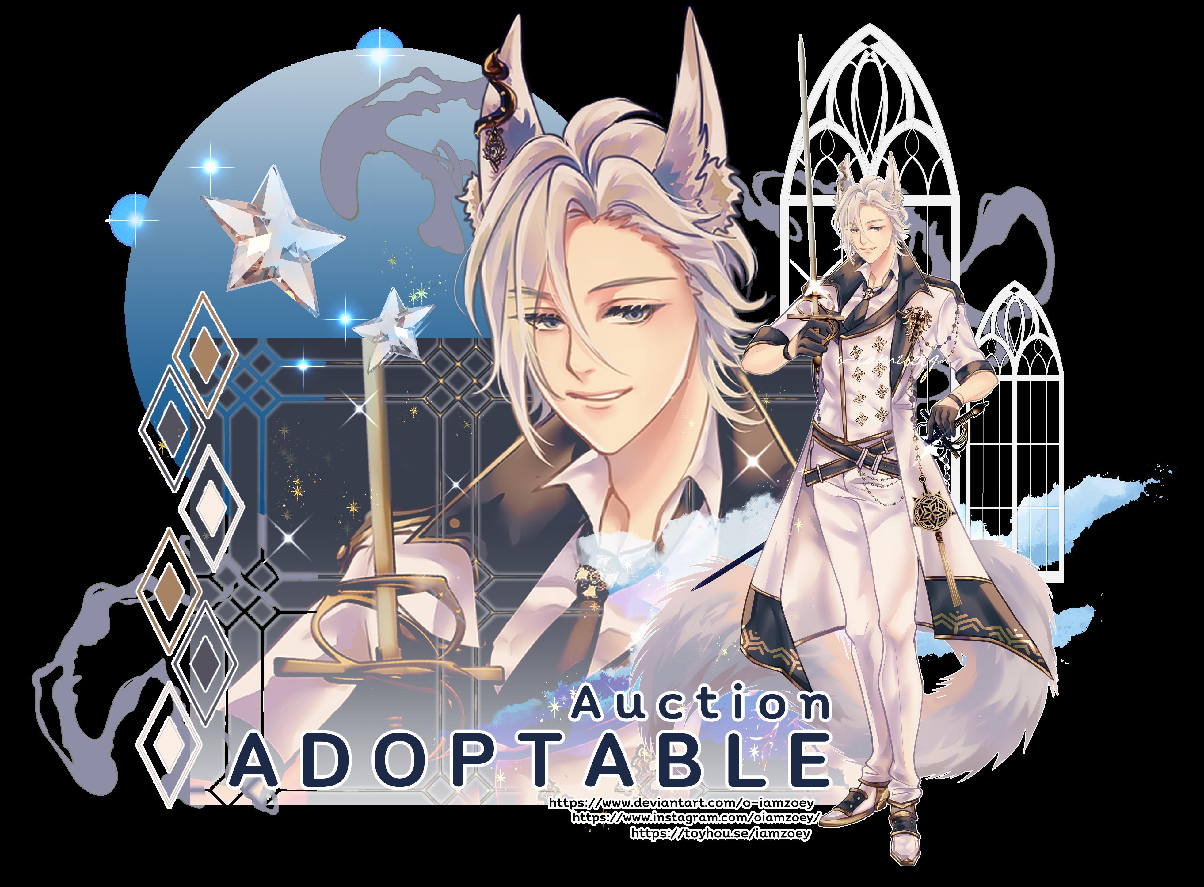 [CLOSE/TY] ADOPTABLE Royal WolfGang