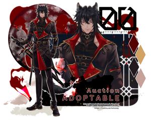 [CLOSE/TY] ADOPTABLE Bloodlust Wolfgang