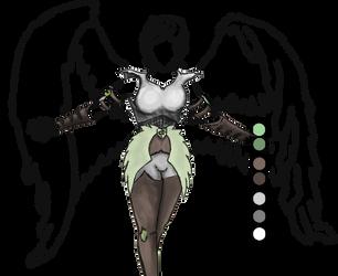 Guardian Angel Work Uniform by Benik0