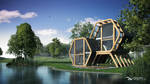 Exterior / Interior Design - Between The Trees by DoliwaWorkshop
