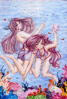 Underwater fun by elithranielle