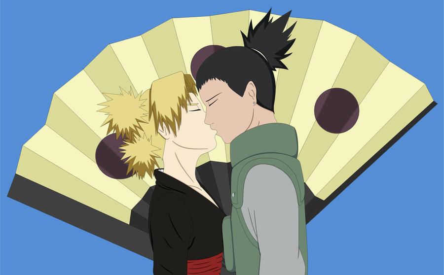 ShikaTema: The first kiss 2 by NinaWH94 on DeviantArt