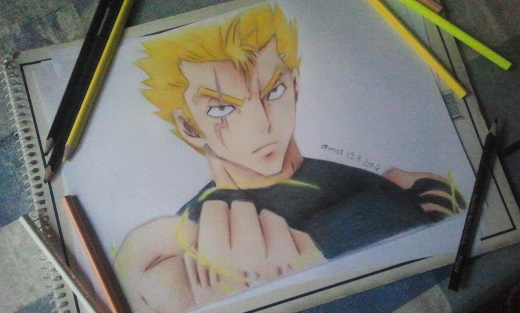 Laxus Dreyar - Fairy Tail by Amer97
