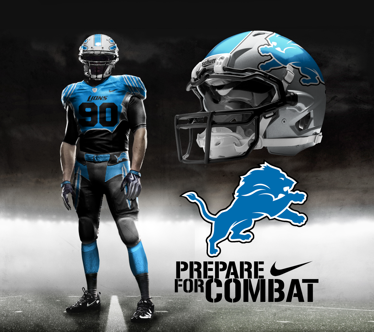 wholesale dealer 89b97 23f40 Detroit Lions Home by DrunkenMoonkey on DeviantArt