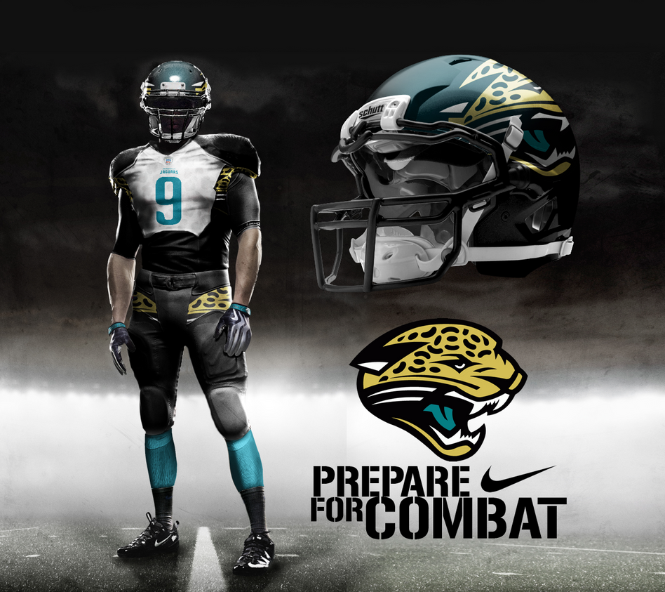 jacksonville jaguars new uniforms 2017 leaked - photo #2