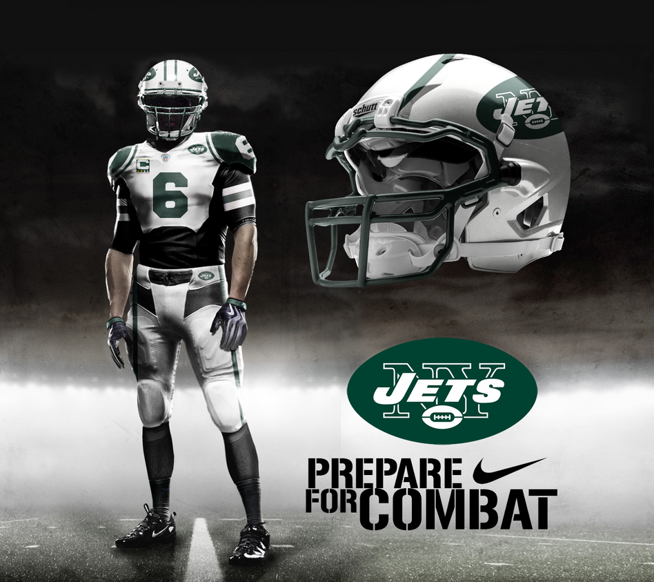 Nike Jets #5 Christian Hackenberg Green Men's Stitched NFL Limited Salute to Service Jersey