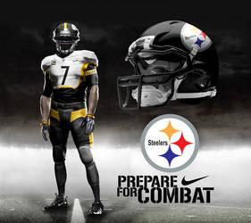 Pittsburgh Steelers Away by DrunkenMoonkey