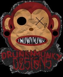 DrunknMunky Logo 2011 by DrunkenMoonkey