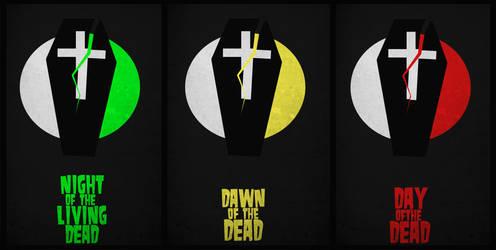 Dead Minimal Movie Posters by DrunkenMoonkey