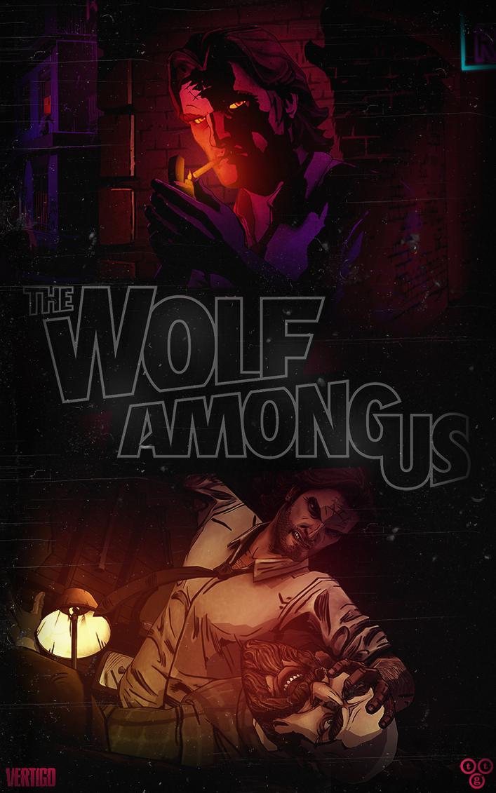 The Wolf Among Us Noir Logo By DrunkenMoonkey