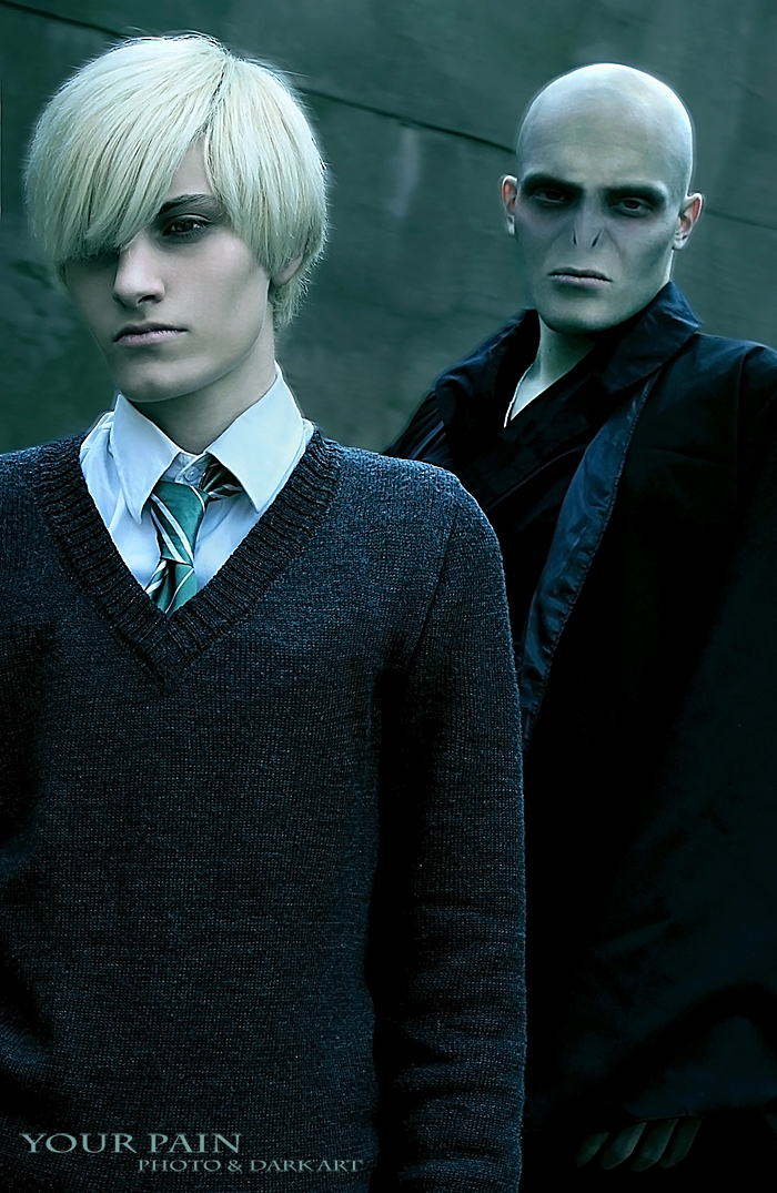 Draco, Lord Voldemort by Your-Pain