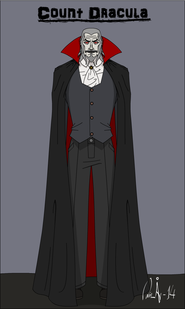Horror Characters Count Dracula By KurvosVicky On DeviantArt
