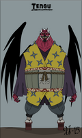 Horror Characters: Tengu
