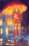 My Sun Under An Umbrella