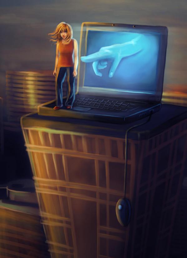 Cyberbullying by DolceCaramella