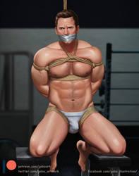 Chris Pratt Bound by gabo-art