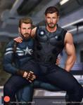 Captain America X Thor
