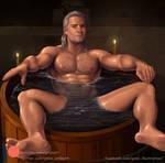 Geralt Of Rivia by gabo-art