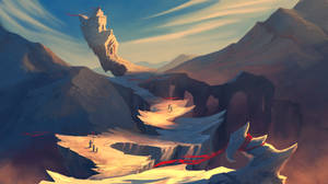 Spiky Cliffs