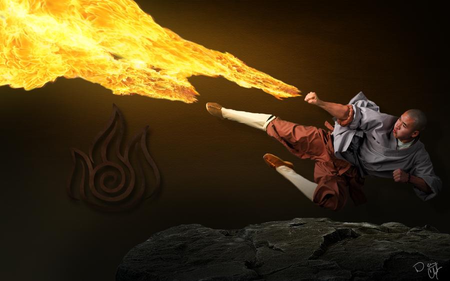 Fire Bender by Alpha-mon