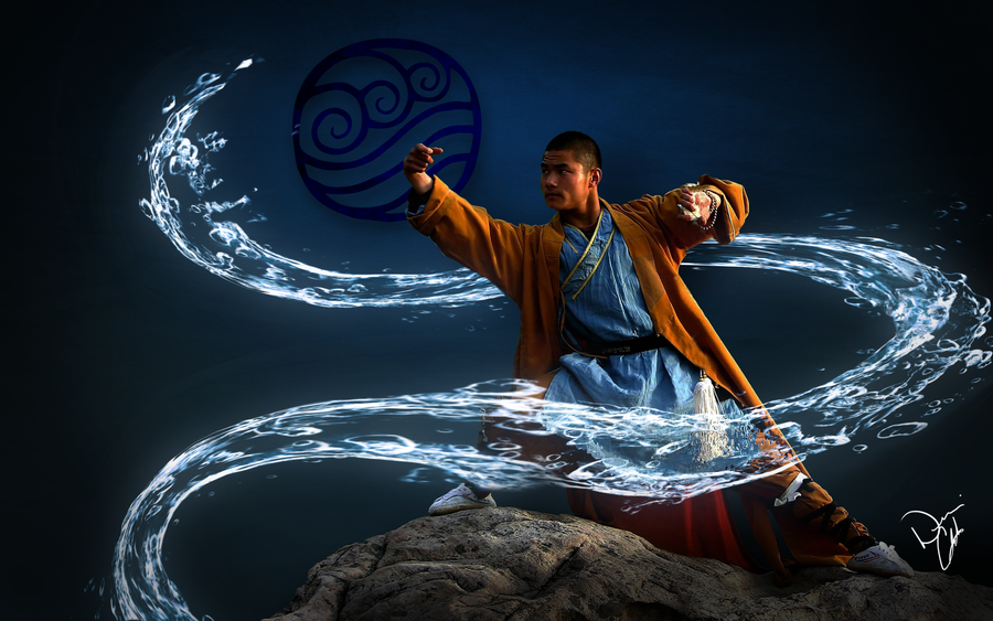 Water Bender by Alpha-mon