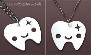 White Tooth Necklace