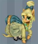 Applejack's old dress