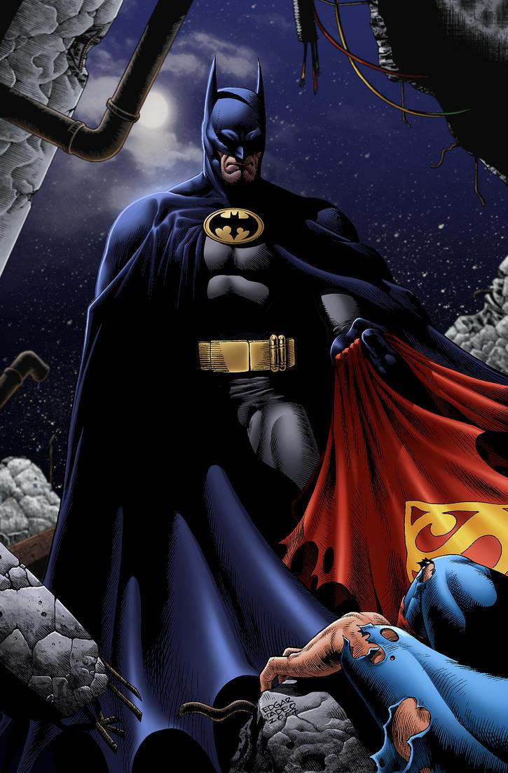 Batman [COLOURING] by DalnAraidi