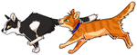 Talltail + Jake by xCoalchaser