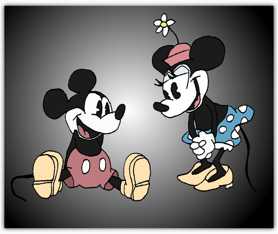 Vintage mickey minnie mouse by andy pants on deviantart - Mickey mouse retro wallpaper ...