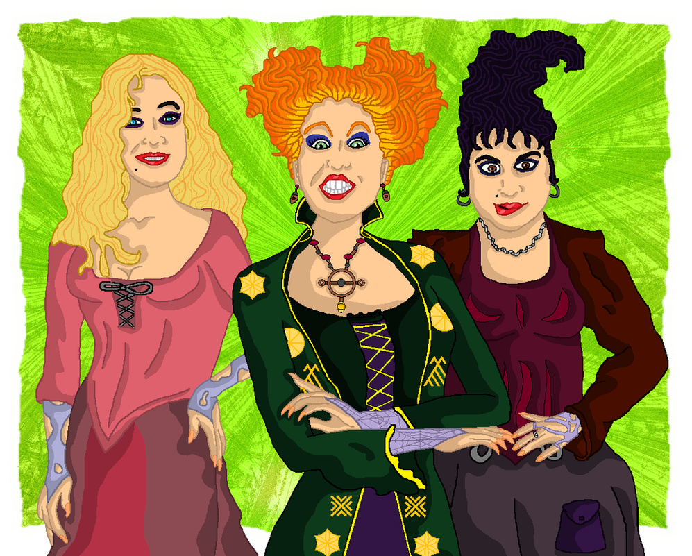 The Sanderson Sisters by andy-pants