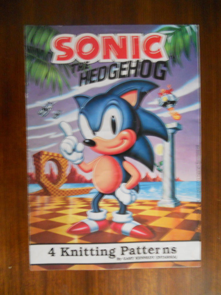 Sonic the Hedgehog Knitting Booklet by BoomSonic514 on ...