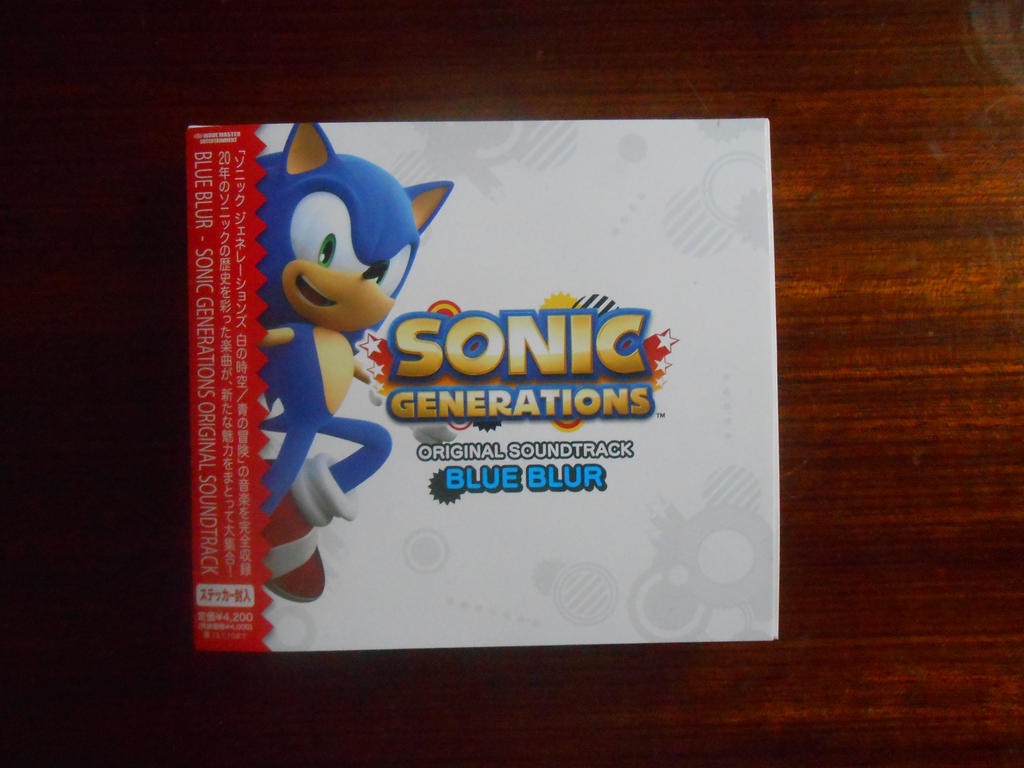 Sonic Generations O.S. Blue Blur by BoomSonic514