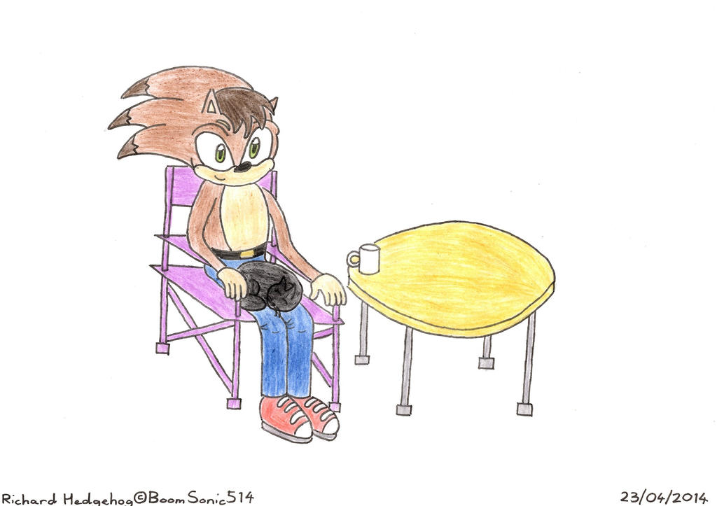 Richard Hedgehog and Sooty by BoomSonic514