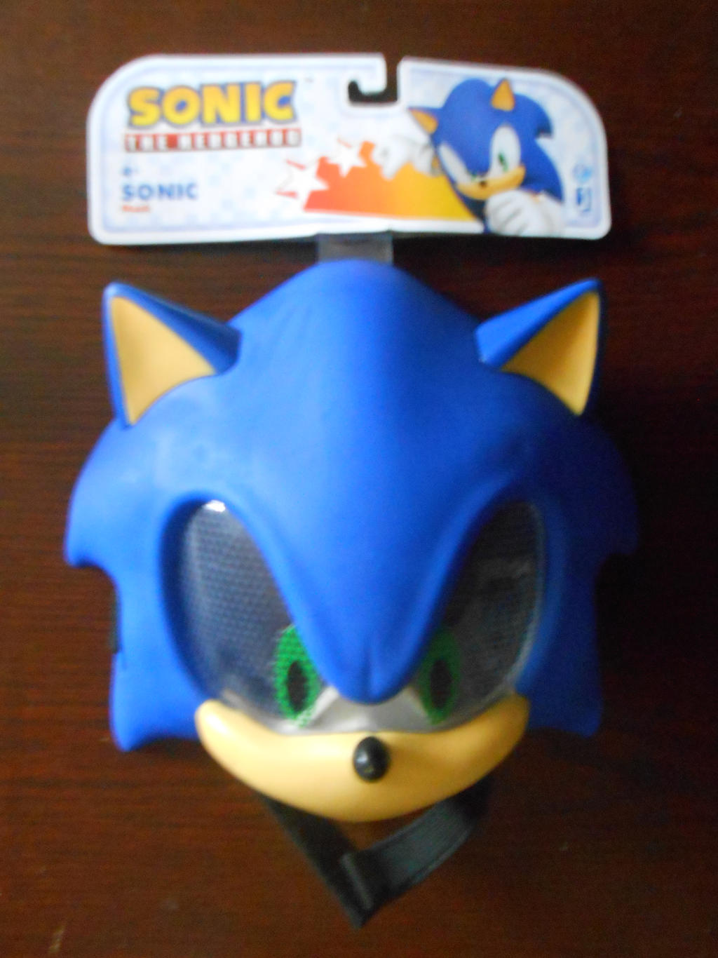 Sonic The Hedgehog Mask By Boomsonic514 On Deviantart