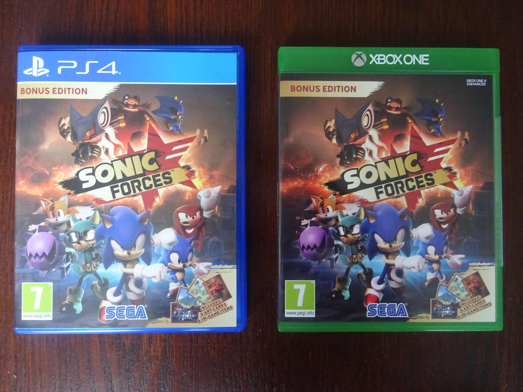 sonic forces ps4 and xbox one by boomsonic514 on deviantart