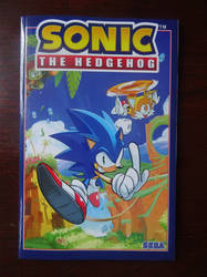 IDW Sonic Comics Volume 1 by BoomSonic514