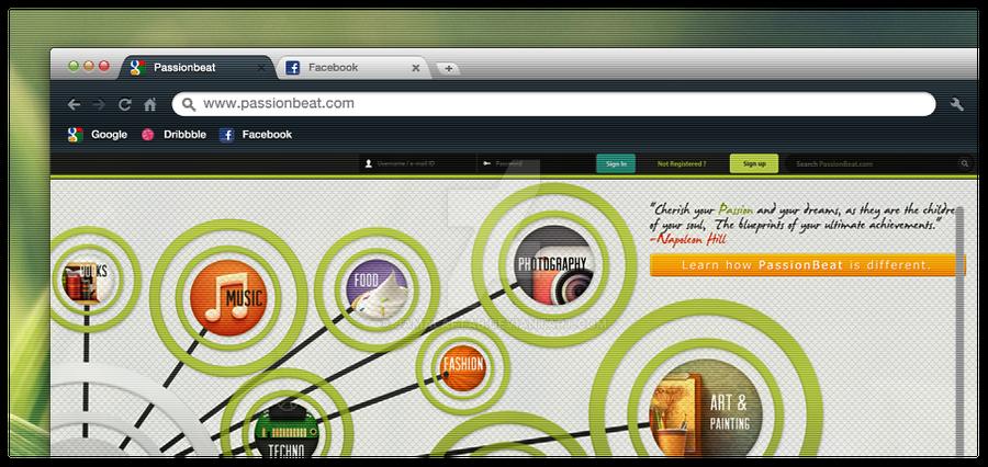 passionbeat home page concept by jamalaftab on deviantart. Black Bedroom Furniture Sets. Home Design Ideas