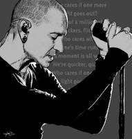Chester Bennington by AngelStar4529