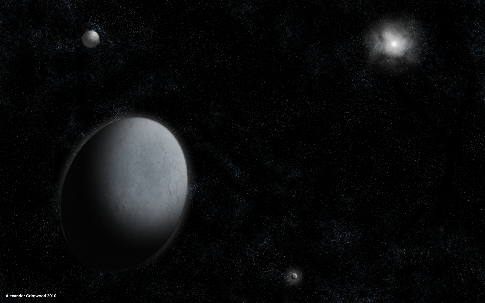 haumea with other planets - photo #15
