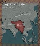 Tibet Civilization V Map Art
