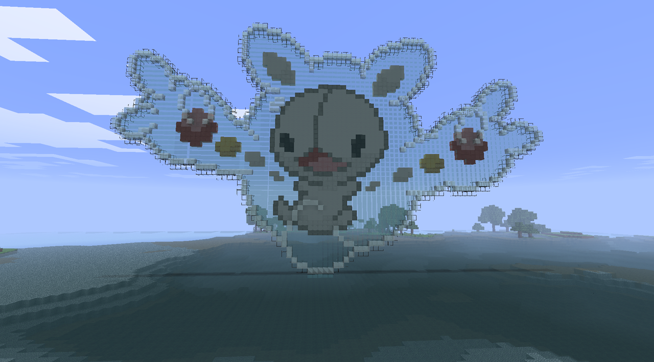 Minecraft: Reuniclus by LotusFlowerful