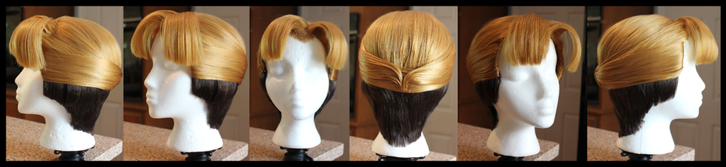 Milo Thatch Wig Complete by Miss-Star-Bucket