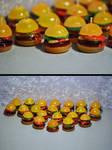 Burger Candles