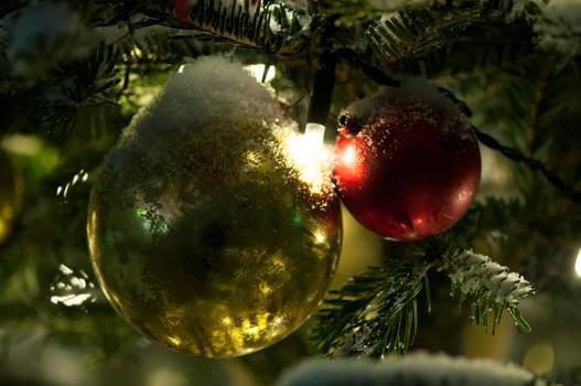 Winter Ornaments by Blazemorioz