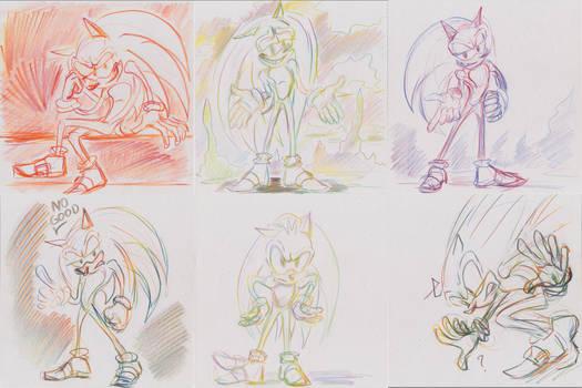 Sanic Sketches 2