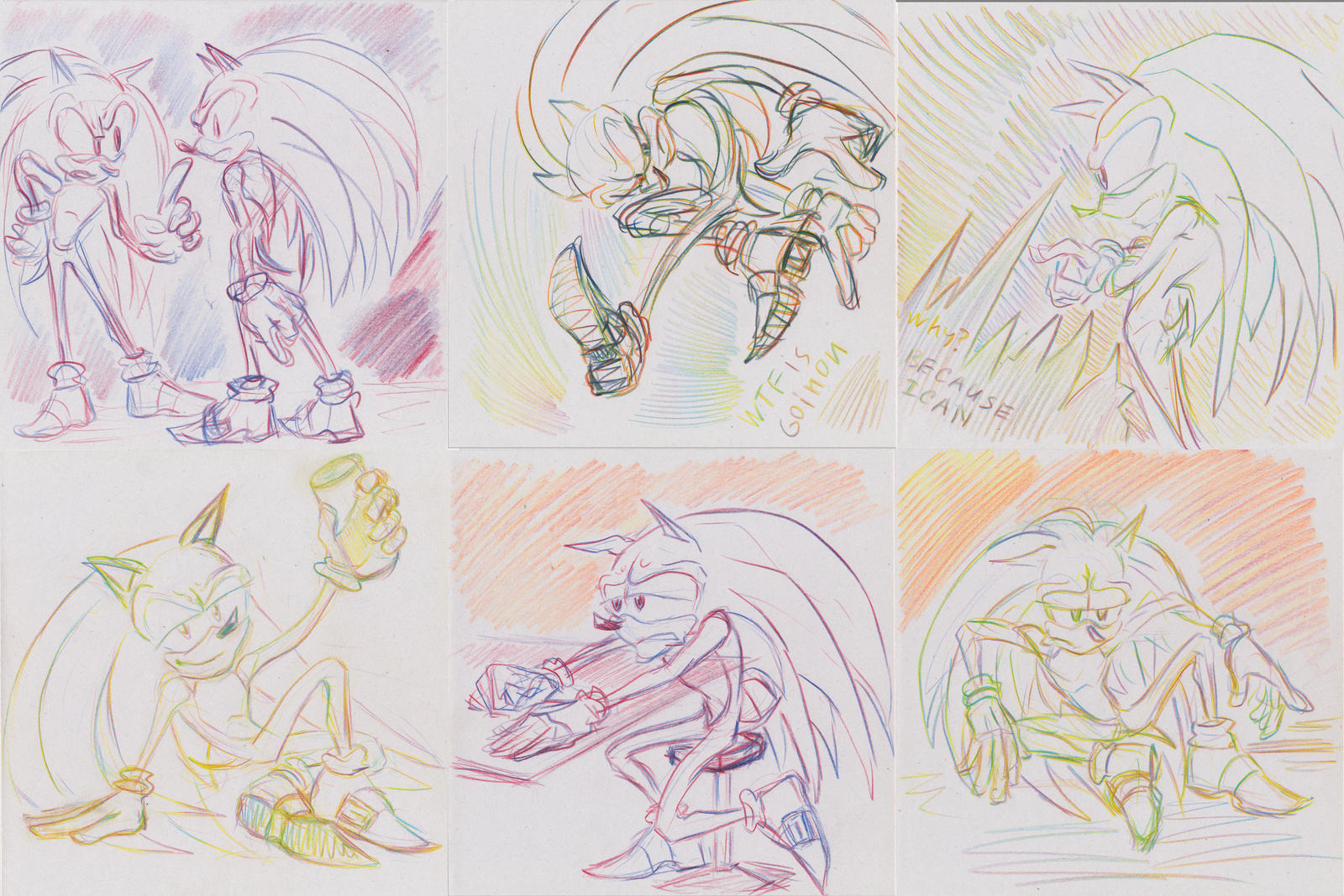 Sanic Sketches 3