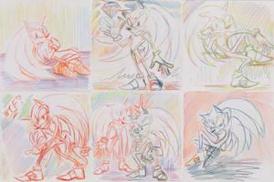 Sanic Sketches 4